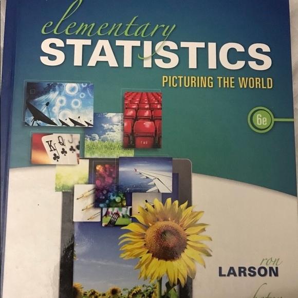 Elementary Statistics 6E Textbook